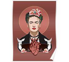 Frida (Dark) Poster