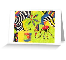 Fiesta No. 5 Greeting Card