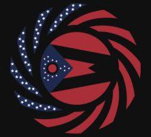 Ohio Murican Patriot Flag Series Kids Tee