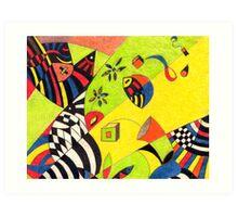 Fiesta No.8 Art Print