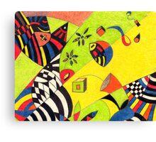 Fiesta No.8 Canvas Print