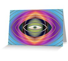 The Hungry Eye Greeting Card