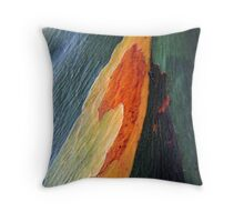Nature's colours Throw Pillow