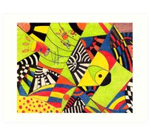 Fiesta No.6 Art Print