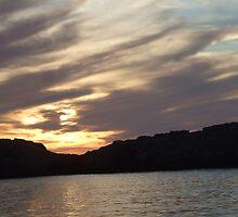 1. Sunset  begining at Dwerja behind Fungus Rock, Gozo, Malta  by DeborahDinah