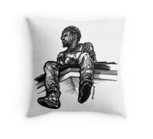 Drive Down the Forest Hills in 2014  Throw Pillow