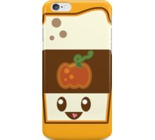 Kawaii Pumpkin Spice Latte iPhone Case/Skin