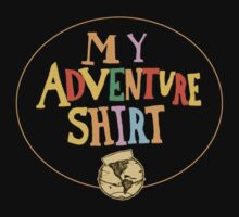 My Adventure Shirt One Piece - Short Sleeve