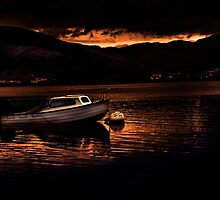 Sunset at Loch Long by tsphotography
