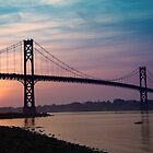 Mt. Hope Bridge by Kevin  McIntyre