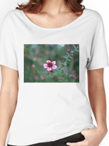 Blossoming Flower Close Up Women's Relaxed Fit T-Shirt
