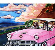 'Elvis & Jesus Go For A Drive' Photographic Print