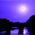 Under A Blue Wichita Moon by Vince Scaglione