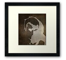 Parchment III Framed Print