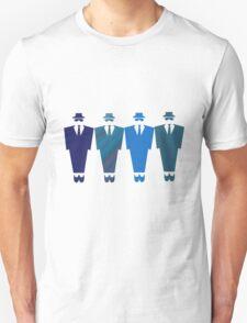 Men in Blue T-Shirt T-Shirt