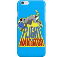 Flight of the Navigator #1 iPhone Case/Skin