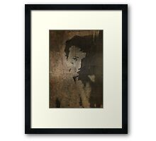 Parchment II Framed Print