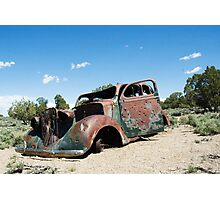 Perfect Sweet Sixteen Car Photographic Print
