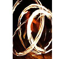 Fire Dancer Photographic Print