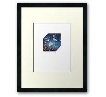 Hypercube Framed Print
