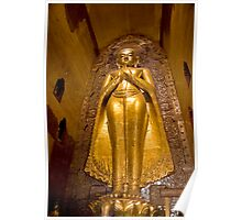 Giant Golden Buddha Poster
