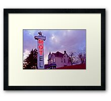 MOTel - Route 30 Framed Print