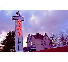 MOTel - Route 30 Photographic Print