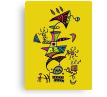 ET Loves Music Canvas Print