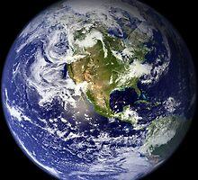 EARTH - USA/CANADA/CENTRAL AMERICA WESTERN HEMISPHERE by colormecolorado