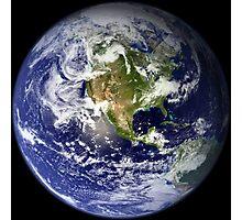 EARTH - USA/CANADA/CENTRAL AMERICA WESTERN HEMISPHERE Photographic Print