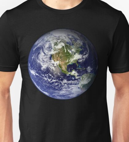 EARTH - USA/CANADA/CENTRAL AMERICA WESTERN HEMISPHERE Unisex T-Shirt