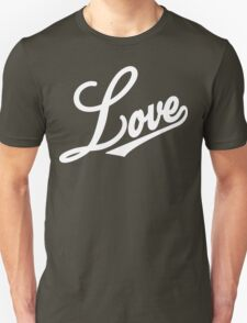 Love [Streetwear] [White Ink] Unisex T-Shirt
