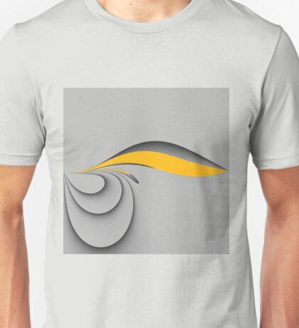 Grey yellow Unisex T-Shirt