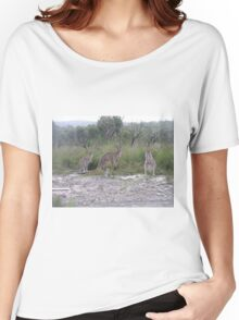 Three Roo's Women's Relaxed Fit T-Shirt