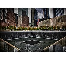 North Tower 9/11 Memorial Photographic Print