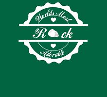 Worlds Most adorable rock Womens Fitted T-Shirt
