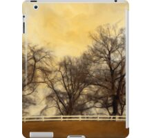 Willows at the Horse Farm iPad Case/Skin