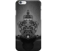 Mirror photography, black and white iPhone Case/Skin