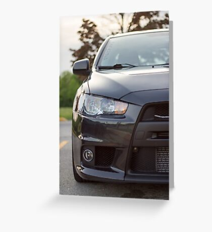 Evo X Greeting Card