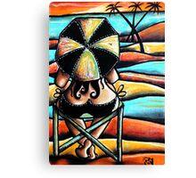 Coloured Sands Canvas Print