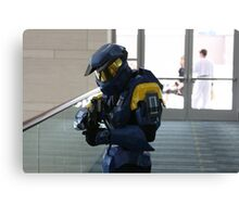 Halo Cosplay Close-up Canvas Print