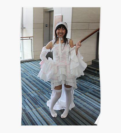 Cosplayer Cutie Poster