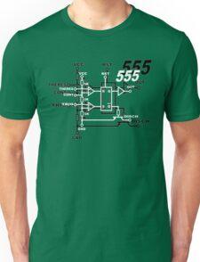 555 original Funny Geek Nerd Unisex T-Shirt