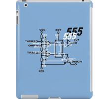 555 original Funny Geek Nerd iPad Case/Skin