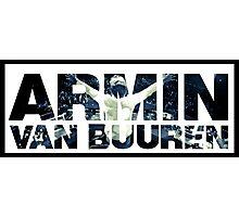 Armin Van Buuren - Logo Photographic Print