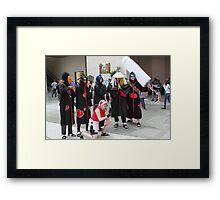 Group Shoot Framed Print