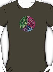 Paisley Peace Black T-Shirt