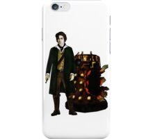 Doctor Who - The War Doctor and Exploded Dalek iPhone Case/Skin