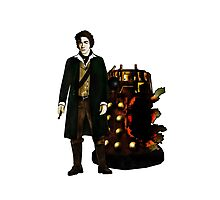 The War Doctor and Exploded Dalek Photographic Print