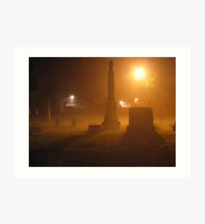 cemetery 02 Art Print